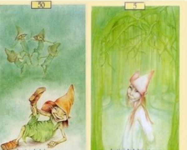 Oraculo dos Elfos, Fadas & Duendes